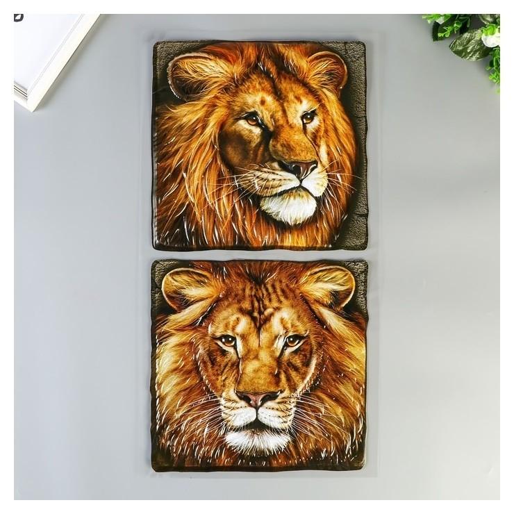 "Объёмные наклейки Room Decor ""Царь зверей"" 32х60 см  Room Decor"