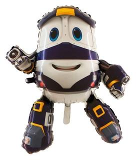 """Шар фольгированный 35"""" «Робот-поезд кей»"""