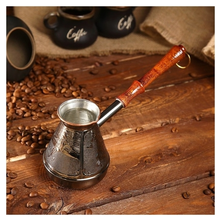 Турка для кофе медная «Спорт», 0,3 л  NNB