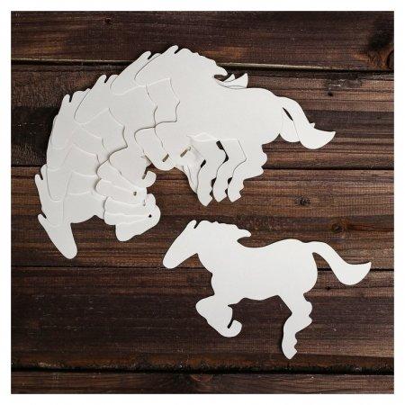Основа для творчества и декора «Лошадь», набор 10 шт., размер 1 шт: 20,5×11 см  NNB