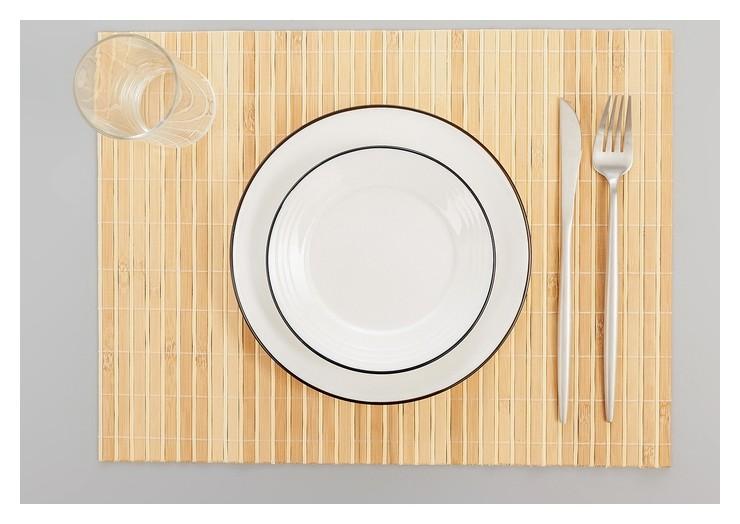 """Салфетка кухонная 43×30 см """"Соломка"""", цвет светло-коричневый  NNB"""