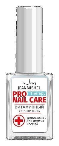 Лечебное средство по уходу за ногтями Витаминный укрепитель  Jeanmishel (Жанмишель)
