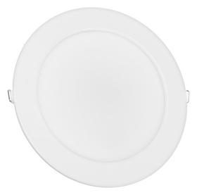 Панель светодиодная IN Home Rlp-vc, 18 Вт, 230 В, 4000 К, 1440 Лм, 185x30 мм, круглая, белая INhome