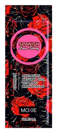 "6-кратный бронзатор ""Spanish Love Story""  Moxie"