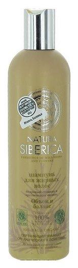 Шампунь для жирных волос Объем и баланс  Natura Siberica