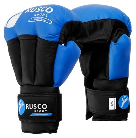 Перчатки для рукопашного боя Rusco Sport 6 OZ цвет синий  Rusco sport