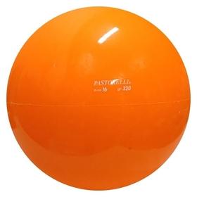 Мяч гимнастический Pastorelli, 16 см, цвет оранжевый