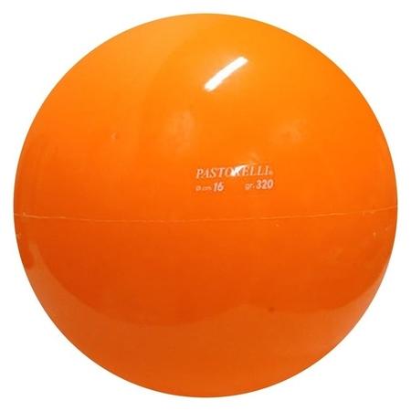 Мяч гимнастический Pastorelli, 16 см, цвет оранжевый  Pastorelli