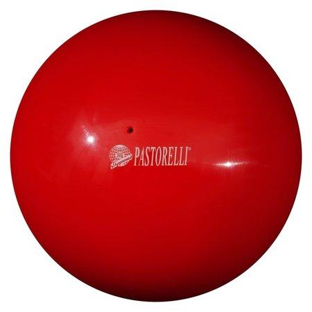 Мяч гимнастический Pastorelli New Generation, 18 см, Fig, цвет красный  Pastorelli