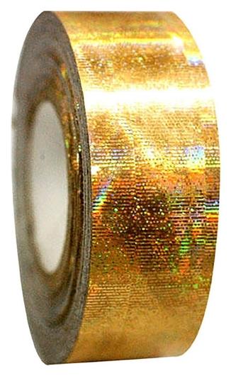 Обмотка для гимнастических булав и обручей Galaxy, цвет золотой металлик  Pastorelli
