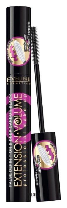 Купить Тушь для ресниц Eveline, Тушь для ресниц Extension volume Make-up экстремальный объем и удлинение, Польша