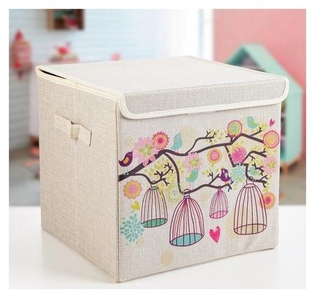 """Короб для хранения 30×30×28,5 см """"Весна""""  NNB"""