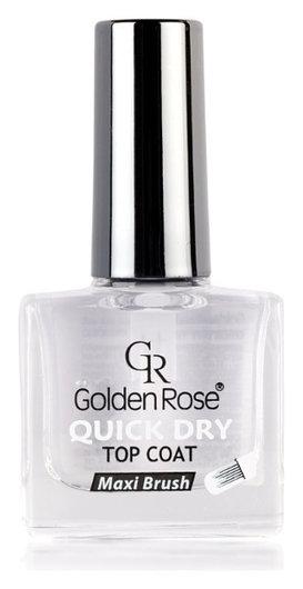 Верхнее покрытие для лака Quick Dry Тop Coat  Golden Rose