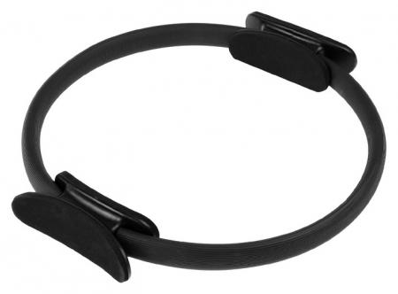 Кольцо для пилатеса 37 см, цвет черный  NNB