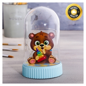 Светильник «Мишка», с фигурками, 5 × 9 см  NNB