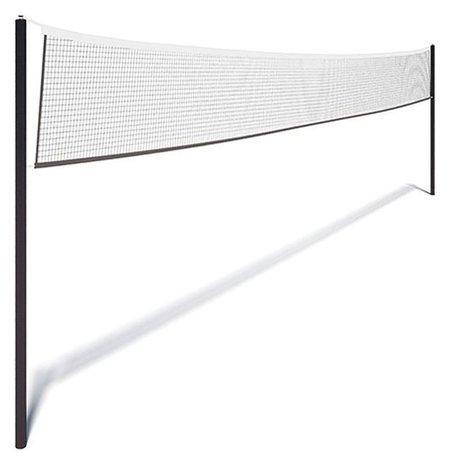Сетка для волейбола, нить 2,8 мм, ячейки 100 х 100 мм, цвет белый, 9,5 х 1 м  NNB