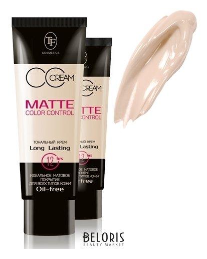 Купить Тональный крем для лица Триумф, Крем тональный матирующий Matte Color Control , Китай, Тон № 901 розово-бежевый