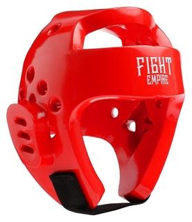 Шлем боксёрский тренировочный Fight Empire, размер M, цвет красный