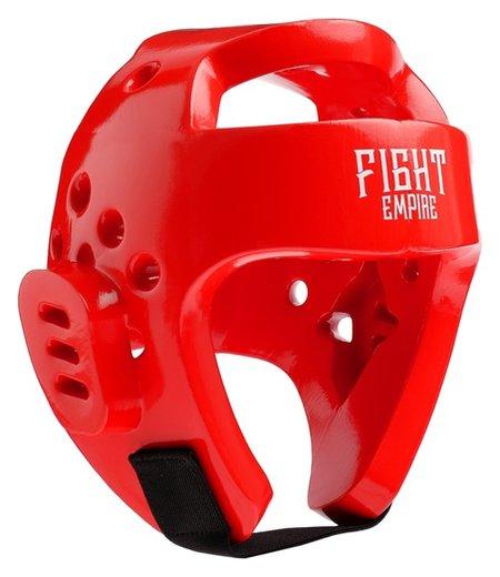 Шлем боксёрский тренировочный Fight Empire, размер XL, цвет красный  КНР
