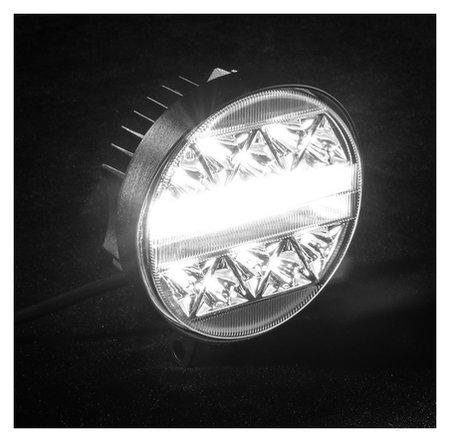 Противотуманная фара 50 Led, Ip67, 102 Вт, 9-30 В, направленный свет  NNB