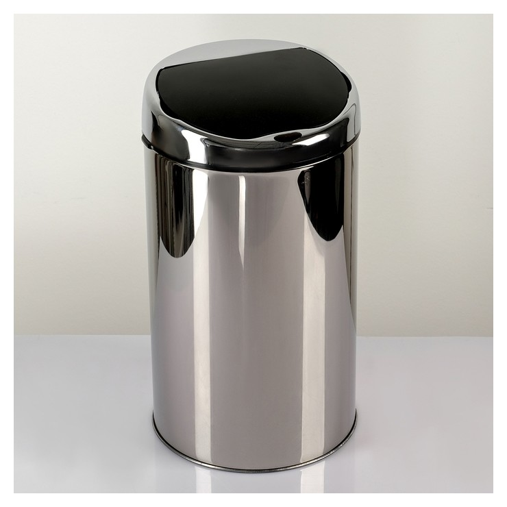 Ведро для мусора сенсорное, 6 л, нержавеющая сталь  NNB