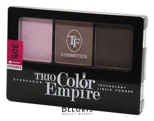 Купить Тени для век Триумф, Тени для век тройные Trio Color Empire , Китай, Тон 305 (Розовая дымка)
