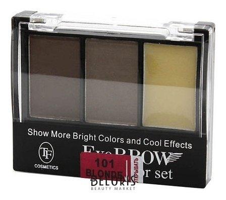 Купить Тени для бровей Триумф, Тени для бровей Eyebrow 3 Color Set , Китай, Тон 101
