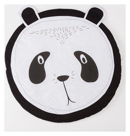 """Коврик детский игровой крошка Я """"Панда"""", D 90 см, 100% хлопок  Крошка Я"""
