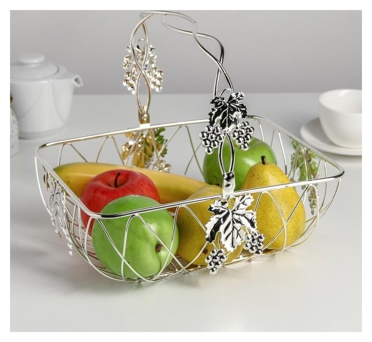 "Ваза- фруктовница ""Виноград"" 27х21 см  NNB"