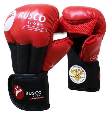 Перчатки Rusco Sport для рукопашного боя Pro, 8 унций, цвет красный Rusco sport