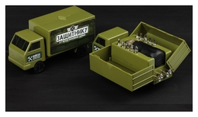 Набор инструментов в грузовике «Защитнику от всех поломок», 15 предметов
