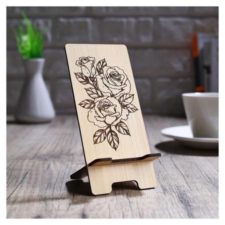Подставка под телефон «Три розы»  NNB