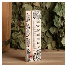 Термометр для бани, жидкостный, 165х50х15мм  Первый термометровый завод