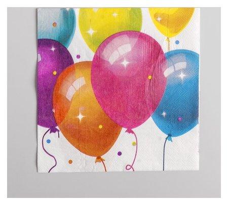 Салфетки бумажные «Кристальные шары», набор 12 шт., 33х33 см  NNB