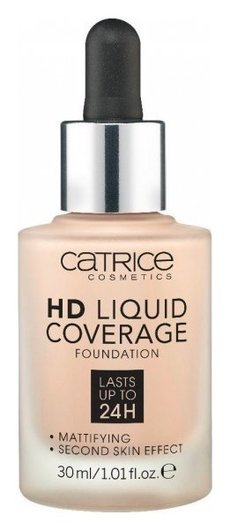 Тональная основа HD Liquid Coverage Foundation  Catrice