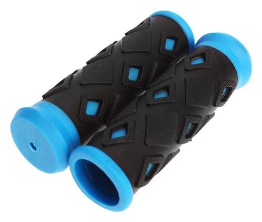 Грипсы хd-113b, 95мм, черно-синие  NNB