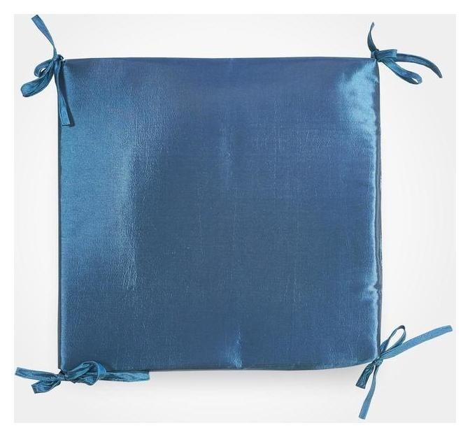 Сидушка на стул тафта, цвет морская волна, 34х34х1,5 см  Witerra