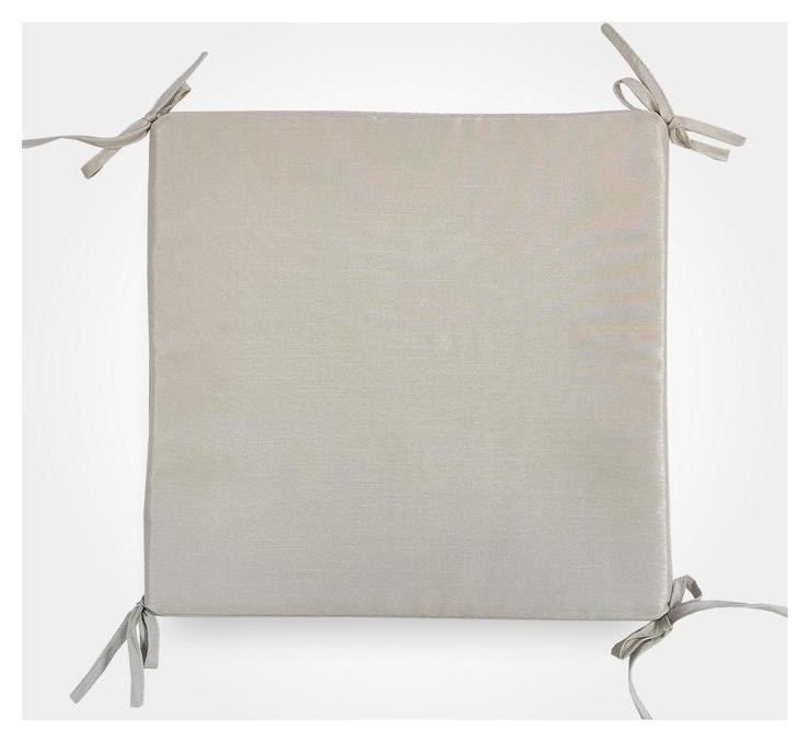 Сидушка на стул бамбук, цвет бежевый, 34х34х1,5 см  Witerra
