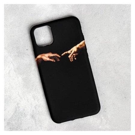 Чехол для телефона Iphone 11 Pro Max «Сотворение адама», 7,8 х 15,8 см  NNB