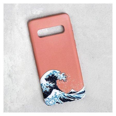 Чехол для телефона Samsung S10 «Большая волна», 7,04 х 15,0 см  NNB
