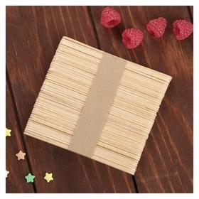Палочки деревянные для мороженого 48-50 шт, 11,5×1,1 см  NNB