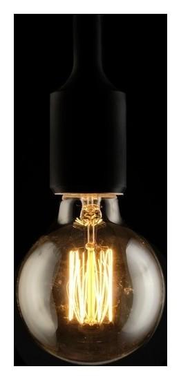 """Лампа накаливания винтажная """"Шар"""", G80, 40 Вт, е27, 230 В, 120х80 мм, теплый белый  NNB"""
