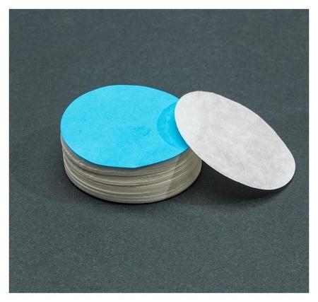 Фильтры D 55 мм, синяя лента, марка ФМ, медленной фильтрации, набор 100 шт  NNB