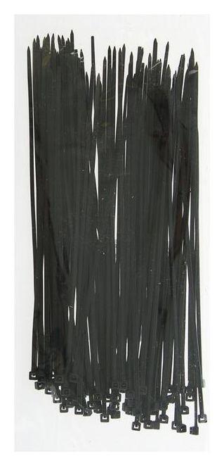 Хомут-стяжки пластиковые, 2.5х200 мм, чёрные, упаковка 100 шт.  NNB