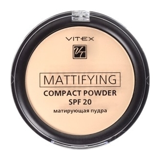 Пудра для лица матирующая компактная SPF 20  Белита - Витекс