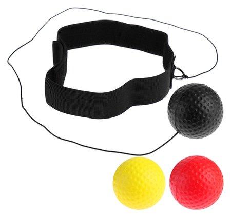 Эспандер «Боевой мяч», для боксёра, теннисиста, набор 3 мяча  NNB