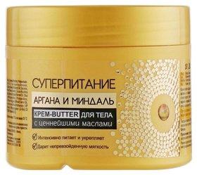 Крем-butter для тела с ценнейшими маслами Суперпитание Аргана и миндаль Белита - Витэкс