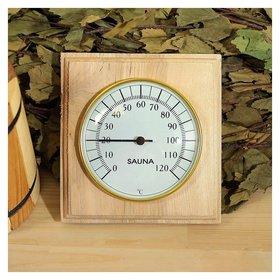 Деревянный термометр банный биметалический  Первый термометровый завод