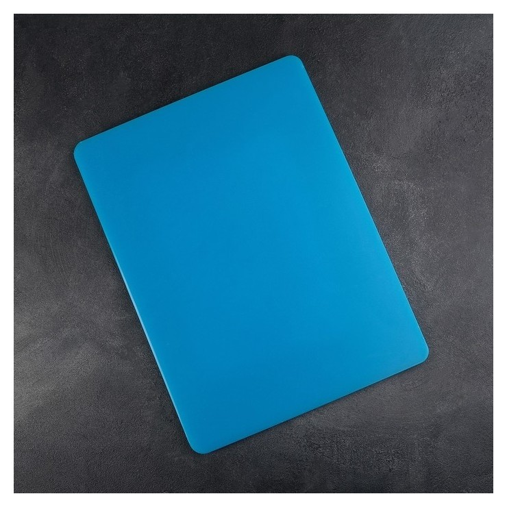 Доска разделочная 40×30 см, толщина 1,2 см, цвет синий  NNB