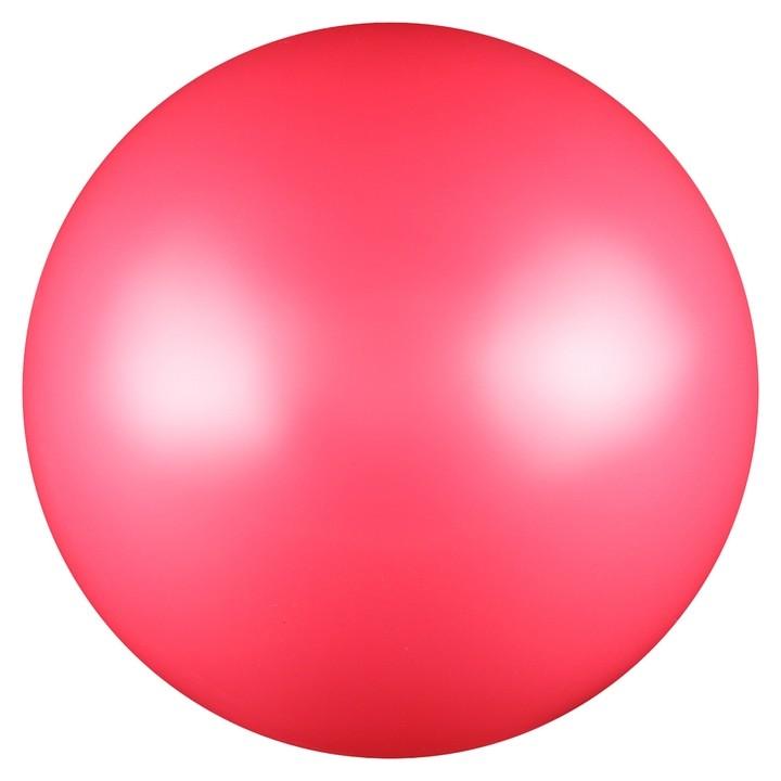 Мяч для художественной гимнастики, силикон, металлик, 15 см, 300 г, Ab2803, цвет розовый  NNB